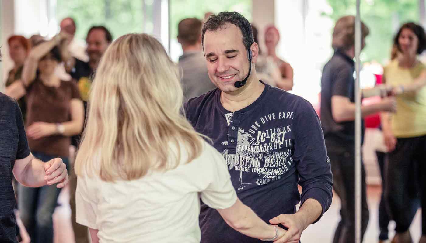 West Coast Swing Weekend - Festival Impressionen Tanzlehrer